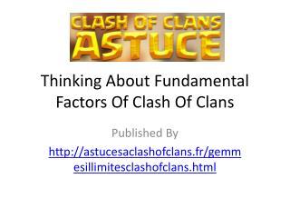 GemmesIllimitesClashOfClans-Clash Of Clans Astuce