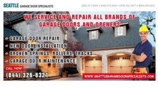 Seattle Garage Door Specialists