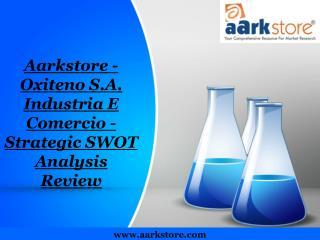 Aarkstore - Oxiteno S.A. Industria E Comercio - Strategic SW