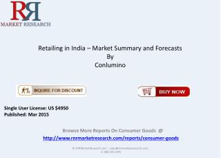 Indian Retail Market Overview in 2015 Research Report