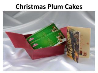 Christmas Plum Cakes