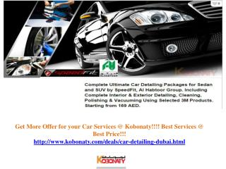 Car Detailing Dubai @ Cheap Rate!!!