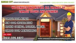 Kansas City Garage Door Specialists