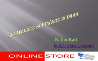 Economical Ecommerce Software
