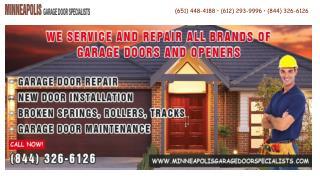Minneapolis Garage Door Specialists
