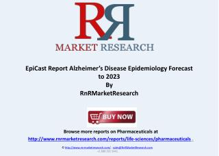 Alzheimer's Disease Epidemiology Forecast to 2023