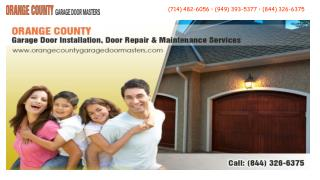 Orange County Garage Door Masters