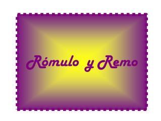 Cómic Rómulo y Remo