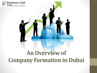 An Overview of Company Formation in Dubai
