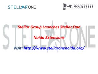 Stellar 1 Greater Noida West