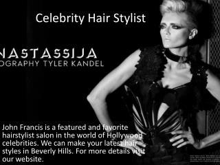 Celebrity Hair Stylist
