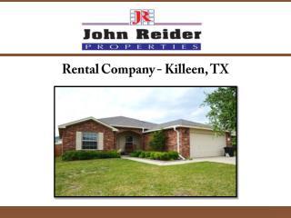 Rental Company- Killeen TX