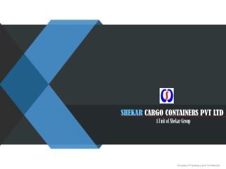 shekar cargo & containers