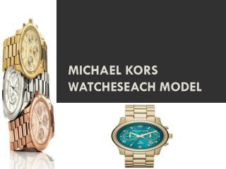 Michael Kors watcheseach model