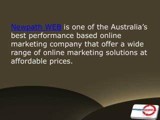 Complete Online Marketing Solution at Newpath WEB