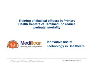 Training of Medical officers in Primary Health Centers of Ta