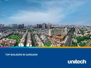 Top Builders In Gurgaon