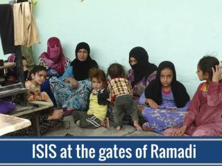 ISIS at the gates of Ramadi