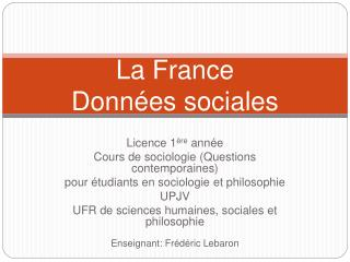 La France Donn es sociales