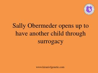 child through surrogacy-Dr.Samit Sekhar