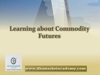 Get Information About Commodity Future