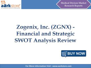 Aarkstore - Zogenix, Inc. (ZGNX) - Financial and Strategic