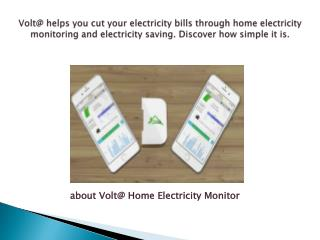 Voltware Help Your Home Electricity Bills Monitoring