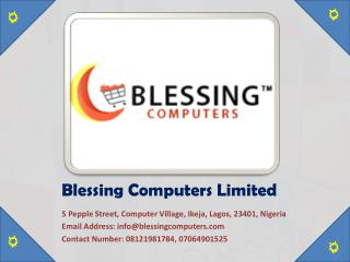 Buy Apple iPad Nigeria Online at Blessing Computers