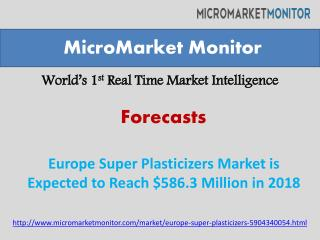 Europe Super Plasticizers Market Research Report