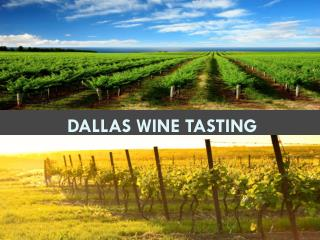Dallas Wine Tasting