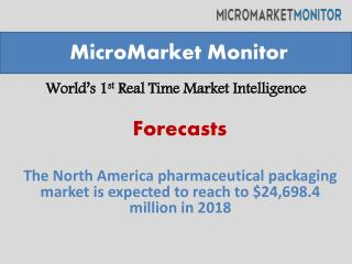 North America pharmaceutical packaging market