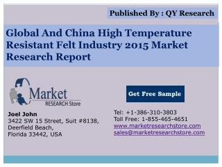 Global and China High Temperature Resistant Felt Industry 20