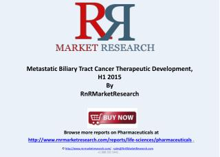 Metastatic Biliary Tract Cancer Market Analysis 2015
