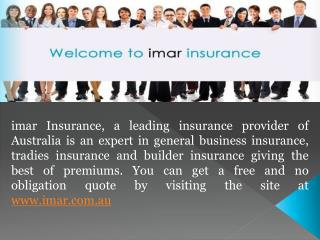 Get Painters Insurance in Australia from imar