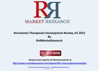 Xerostomia Therapeutic Pipeline Review, H1 2015