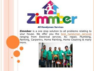 Zimmber: Handyman Services