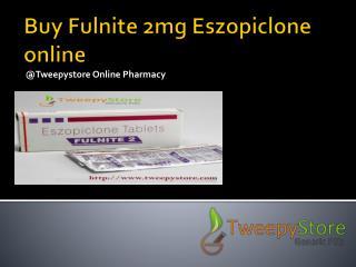 Fulnite 2 mg from sun pharma