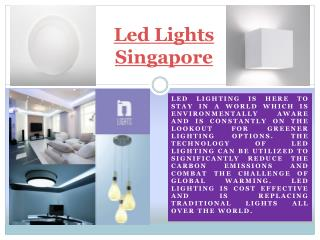 Led Light Singapore