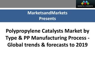 Polypropylene Catalysts Market worth $1,123 Billion by 2019
