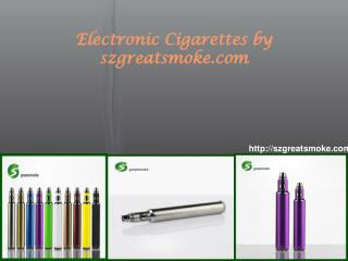 Electronic cigarettes by szgreatsmoke.com
