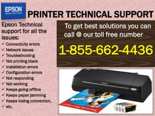 Epson Printer Technical 1-855-662-4436 Support Phone Number