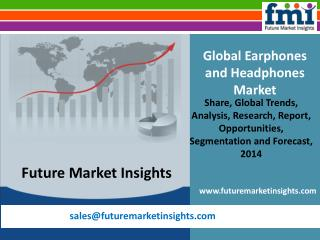 Earphones and Headphones Market by FMI
