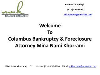 Columbus Bankruptcy Lawyer