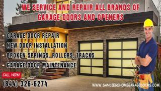 Residential Garage Door Installation & Repair Service, San D