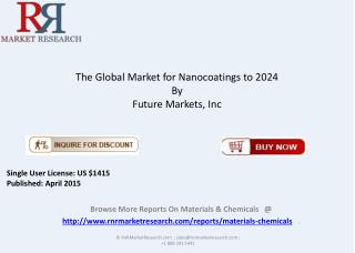 2015 Industry Research Report on Nanocoatings Market
