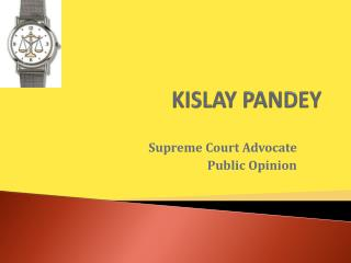 Supreme Court Advocate in Delhi