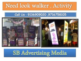 iWalker Activity, Lookwalker Activity, BTL Activity in Delhi