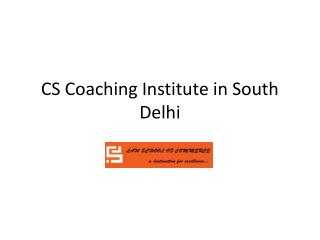 Best CS Classes in South Delhi