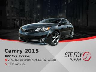 La Camry 2015 - Fiabilité et économies chez Ste-Foy Toyota