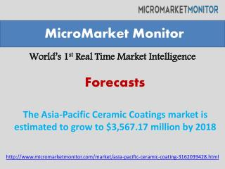 The Asia-Pacific Ceramic Coatings Market Research